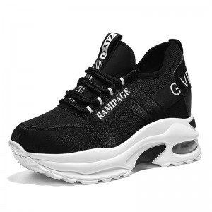 Hidden Taller Sports Shoes That Add Height 8cm / 3.2Inch Lace-Up Hidden Lift Outdoor Shoes