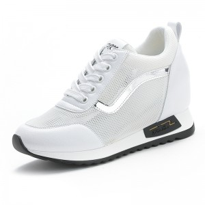 Hidden Increase Walking Shoes That Make You Look Taller 8cm / 3.2Inch Mesh Elevated Sports Shoes