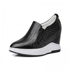 Elevating Loafers Height Lifting 10cm / 4Inch Slip-On & Pull-On Hidden High Heel Walking Shoes