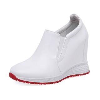 Hidden Taller Dress Shoes Height Grow 10cm / 4Inch Slip-On & Pull-On Hidden High Heel Casual Shoes