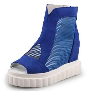 Hidden Wedge Heel Loafers Look Taller 9cm / 3.5Inch Slip-On & Pull-On Hidden Heel Walking Shoes