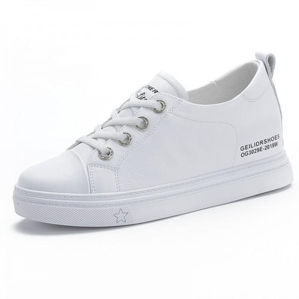 Korean Girls Hidden Heel Campus Shoes